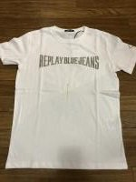 [REPLAY] REPLAY  REPLAY BLUE JEANS プリントTEE