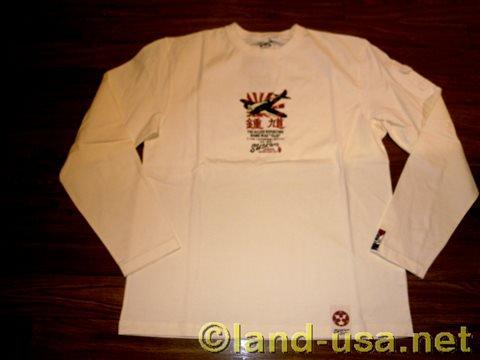 [粋狂]  L/S Tシャツ 日本一陸軍