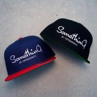 SOMETHING LOGO SNAPBACK