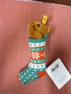 <img class='new_mark_img1' src='https://img.shop-pro.jp/img/new/icons50.gif' style='border:none;display:inline;margin:0px;padding:0px;width:auto;' />Mini Teddybear in Sock russet