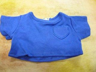 カラーTシャツ ブルー
