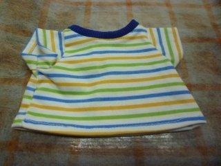 Tシャツ ボーダーブルー'19