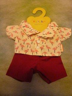 フラミンゴシャツ&パンツ