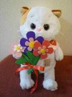 Li-Li BABY with felt flowers