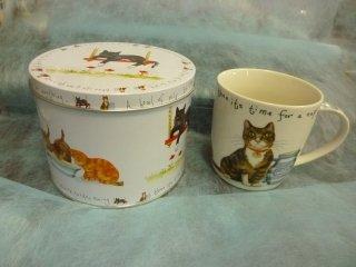 缶入りマグカップ CAT