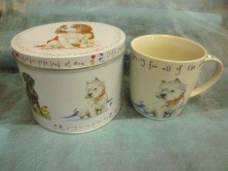 缶入りマグカップ DOG ヨークシャーテリア