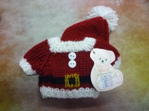 クリスマスウェア キャップ&セーター サンタ