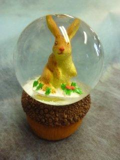 ウッドファミリースノードーム ウサギ
