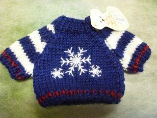セーター '15 スノーフレークブルー