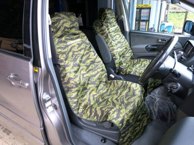 BLUCO ブルコ OL-100 ALL WEATHER SEAT COVER シートカバー TIGER STRIPE CAMO