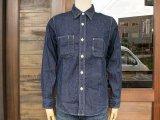 UES ウエス 500954 WORK SHIRT ワークシャツ DENIM