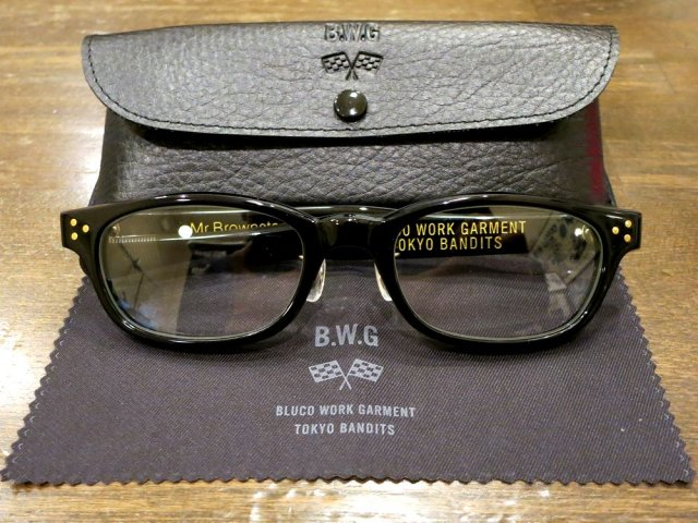 BWG JAPAN  Mr.Brownstone サングラス  BLKフレーム/調光レンズ