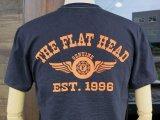 FLATHEAD フラットヘッド THC-170 『 FH FLYING WHEEL 』 フライング ホイール Tシャツ BLACK