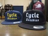 CYCLE ZOMBIES サイクルゾンビーズ  GFSB-016 『 BLITZKRIEG 』SNAP BACK HAT キャップ  2color BLACK/NAVY