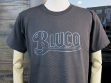 BLUCO ブルコ OL-800-018  SUPER HEAVY WEIGHT TEE' S -LOGO-Tシャツ BLACK