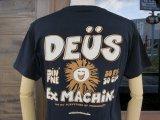 Deus Ex Machina デウス エクス マキナ DMS71919G 『 FINE TIME TEE 』T-SHIRT Tシャツ 半袖 BLACK