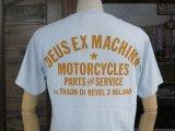 Deus Ex Machina デウス エクス マキナ DMS71885E 『 MARLE MILAN TEE 』T-SHIRT Tシャツ 半袖 LIGHT BLUE