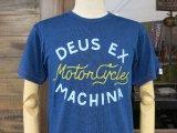 Deus Ex Machina デウス エクス マキナ  DMP81116B 『 DANDY INDIGO TEE 』T-SHIRT Tシャツ 半袖 DARK BLUE