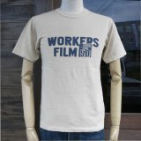 UES ウエス 651820 『 WORKERS FILM 』 Tシャツ 半袖 OFF WHITE