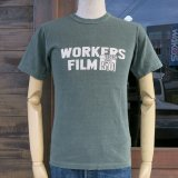 UES ウエス 651820 『 WORKERS FILM 』 Tシャツ 半袖 GREEN