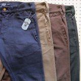 BLUCO ブルコ OL-063E  SLIM WORK PANTS -Strech-  スリム ワークパンツ ストレッチ 4color