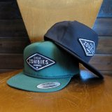 CYCLE ZOMBIES サイクルゾンビーズ  GFSB-018 『 DIY  』 SNAP BACK HAT キャップ  帽子 2color BLACK/SPRUCE