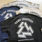 <img class='new_mark_img1' src='https://img.shop-pro.jp/img/new/icons50.gif' style='border:none;display:inline;margin:0px;padding:0px;width:auto;' /> SAMS  MOTORCYCLE サムズ 『  SAMS CHOPPERS ST  』S/S T-SHIRT Tシャツ 半袖 4color バイカー SHOP SAMS