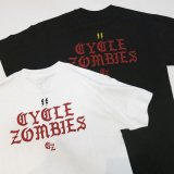 <img class='new_mark_img1' src='https://img.shop-pro.jp/img/new/icons12.gif' style='border:none;display:inline;margin:0px;padding:0px;width:auto;' />CYCLE ZOMBIES サイクルゾンビーズ  MTSS-015『 BOLTZ  』 S/S T-SHIRT Tシャツ 半袖 2color BLACK/WHITE