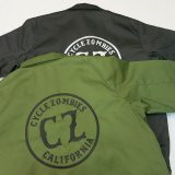 CYCLE ZOMBIES サイクルゾンビーズ  BWJKT-001 BLUCO×CZ  『 CALIFORNIA  』 WORK JACKET ワークジャケット 2color BLACK/GREEN