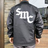 <img class='new_mark_img1' src='https://img.shop-pro.jp/img/new/icons50.gif' style='border:none;display:inline;margin:0px;padding:0px;width:auto;' />SAMS MOTORCYCLE サムズ 『 SMC  』 FAKE LEATHER JACKET  フェイクレザー ジャケット BLACK