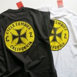 CYCLE ZOMBIES サイクルゾンビーズ  MTSS-020 『  CLOCK WORK   』 S/S T-SHIRT Tシャツ 半袖  2color BLACK / WHITE