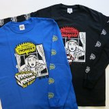 B.W.G B19017 『 CHOPPER  』 L/S T-SHIRT ロンT 2color BLACK / BLUE 長袖 BWG BLUCO ブルコ
