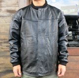 <img class='new_mark_img1' src='https://img.shop-pro.jp/img/new/icons12.gif' style='border:none;display:inline;margin:0px;padding:0px;width:auto;' />SAMS MOTORCYCLE サムズ  LEATHER DERBY JACKET  レザーダービージャケット  BLACK