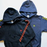 B.W.G B19023 『  CATCH THE FLAG  』 HOODIE フーディ パーカー 2color BLACK / NAVY 長袖 BWG BLUCO ブルコ