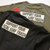 CYCLE ZOMBIES サイクルゾンビーズ  MPSS-093『  LOCAL TRASH  』 S/S T-SHIRT Tシャツ 半袖  2color BLACK / GREEN