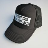 CYCLE ZOMBIES サイクルゾンビーズ   THF-021  『  LOCAL TRASH   』 HAT キャップ  BLACK  帽子 Cap