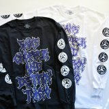 SHOP SAMS サムズ 『  CHOPPER AND DESTROY TOKYO 』LONG SLEEVE T-SHIRTS ロンT 長袖 BLACK / WHITE