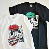B.W.G B20004 『 CHOPPER  』 T-SHIRT Tシャツ  BLACK / WHITE 半袖 BWG BLUCO ブルコ