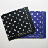 SHOP SAMS サムズ 『 SAMS BANDANA』 バンダナ  BLACK / PURPLE