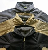 BLUCO ブルコ OL-052-020 HOOD JACKET フードジャケット 3color BLK / KHK / 杢GRY ジャケット