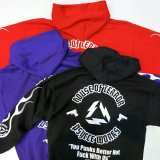 SAMS MOTORCYCLE サムズ  GLOCK HOODIE グロック フーディ 3color BLACK / RED / PURPLE パーカー 長袖