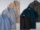 BLUCO ブルコ OL-108-021 STANDARD WORK SHIRTS S/S スタンダード ワークシャツ 半袖 6color
