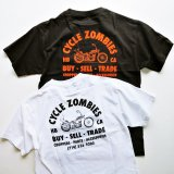 <img class='new_mark_img1' src='https://img.shop-pro.jp/img/new/icons11.gif' style='border:none;display:inline;margin:0px;padding:0px;width:auto;' />CYCLE ZOMBIES サイクルゾンビーズ MTSS-043 『  EVERYDAY  』 S/S T-SHIRT Tシャツ 半袖  WHITE / BLACK