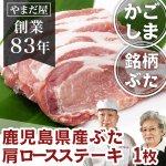 【国産豚/ブランド豚】 鹿児島県産 はいからポーク 豚ステーキ1枚 100g