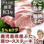 【国産豚/ブランド豚】 鹿児島県産 はいからポーク 豚ステーキ10枚
