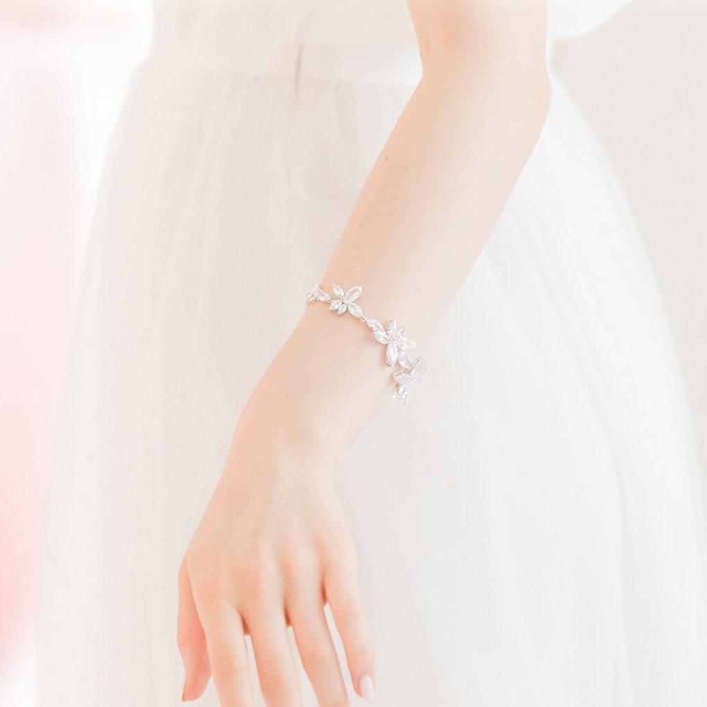 【R】Allure Bracelet(アリュールブレスレット)(シルバー)STEPHANIE BROWNE(ステファニーブラウン)