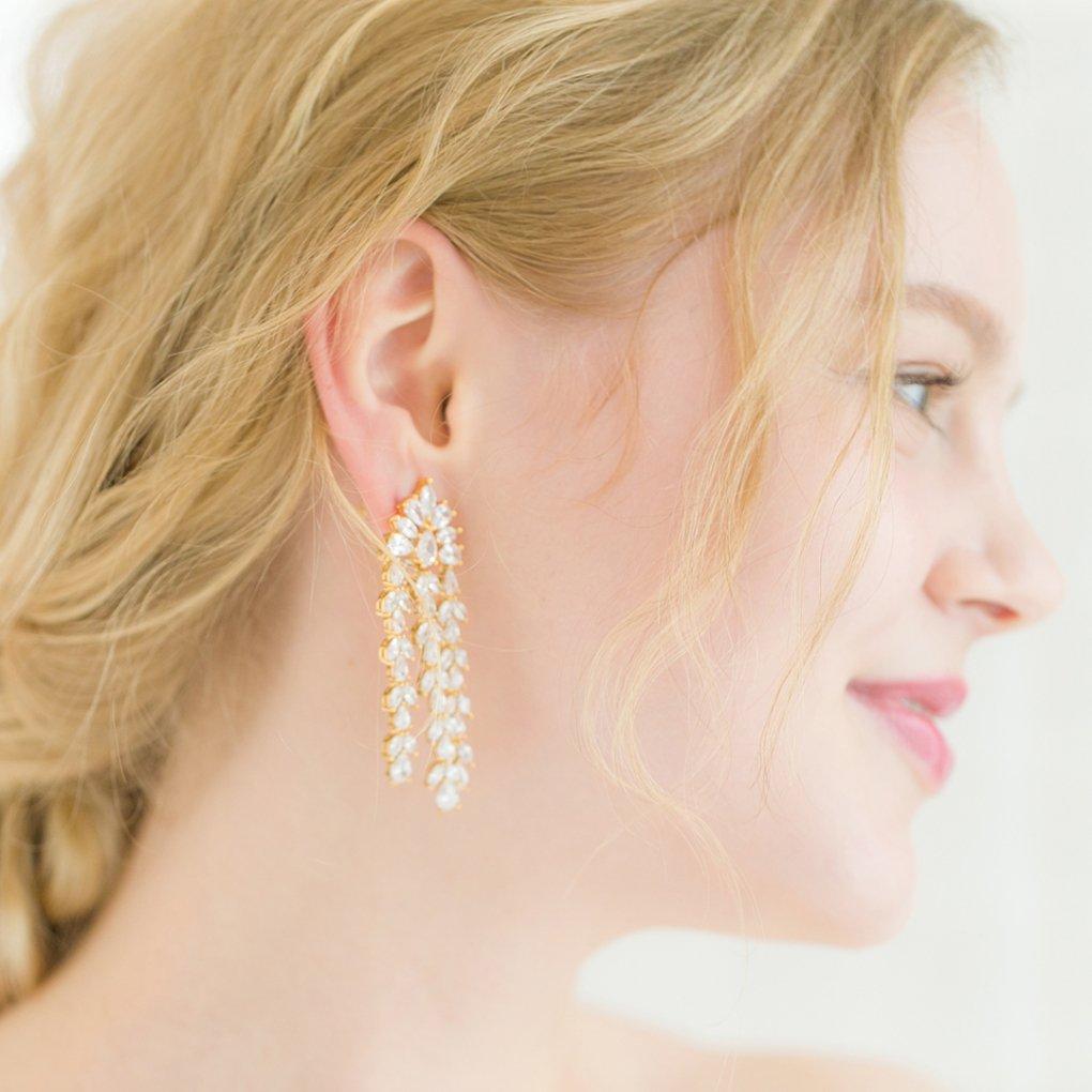 【R】Cascade Miss  Earring(カスケードミスイヤリング)(ゴールド)STEPHANIE BROWNE(ステファニーブラウン)