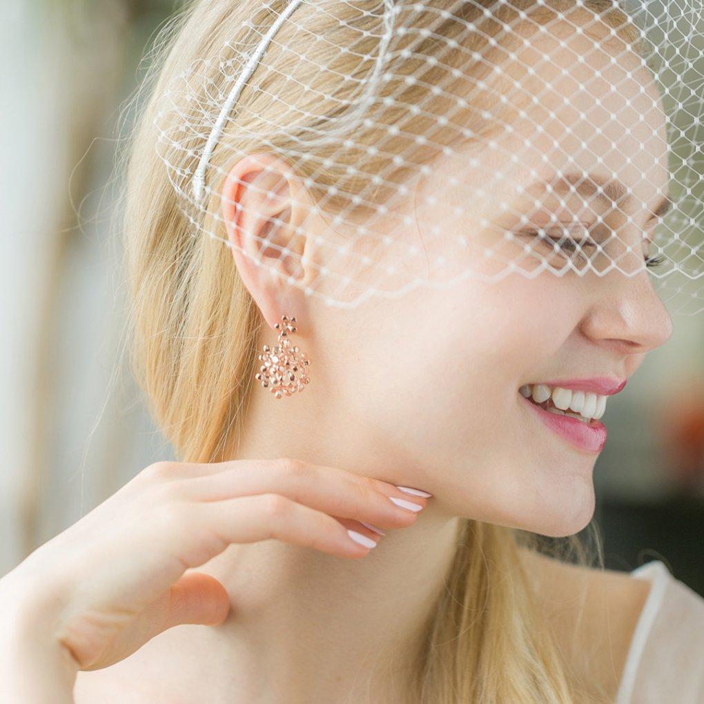 Small Fleurage Earring&Pierce(スモールフルラージュイヤリング&ピアス)(ピンクゴールド)Mimi Cannelle(ミミ キャネル)