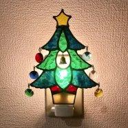 クリスマスツリーのフットランプ