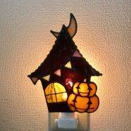 ハロウィンジャックオランタンのフットランプ